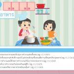 การงานอาชีพ ป.6 หน่วยที่ 2 การประกอบอาหาร