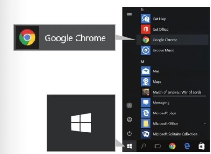 การเลือกใช้โปรแกรม Google Chrome