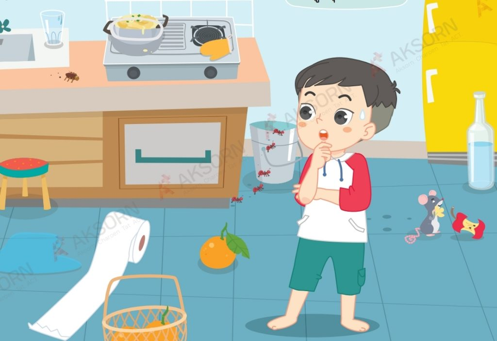 การจัดห้องครัว