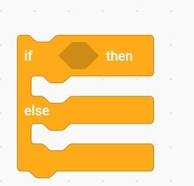 Code โปรแกรม Scratch บล็อกคำสั่งเงื่อนไข