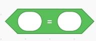 Code โปรแกรม Scratch  ตัวดำเนินการเท่ากับ (=)